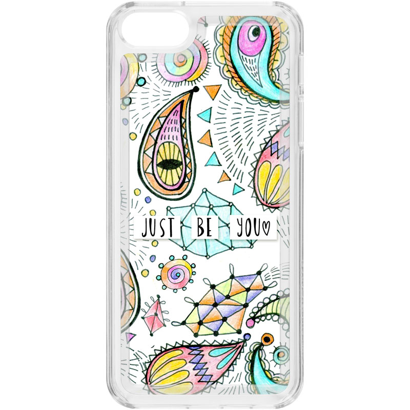 competitive price 18969 ecd6b Just be you iPhone 5/5S Clear Case + Insert