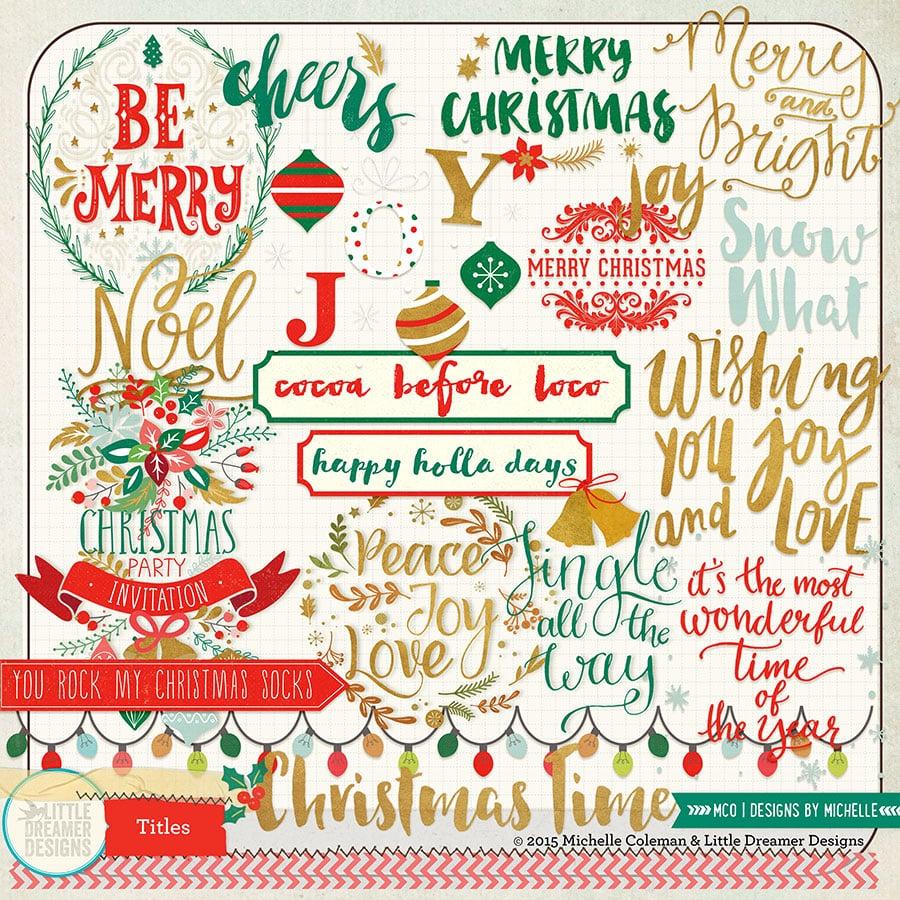 Christmas Time Titles - Hello Dreamer